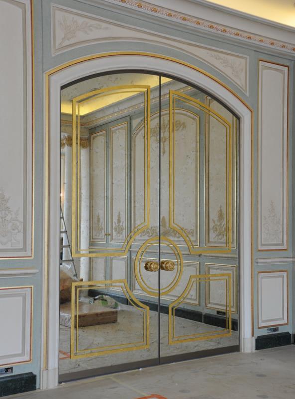 L 39 atelier du peintre en d cors - Moulures de portes decoration ...